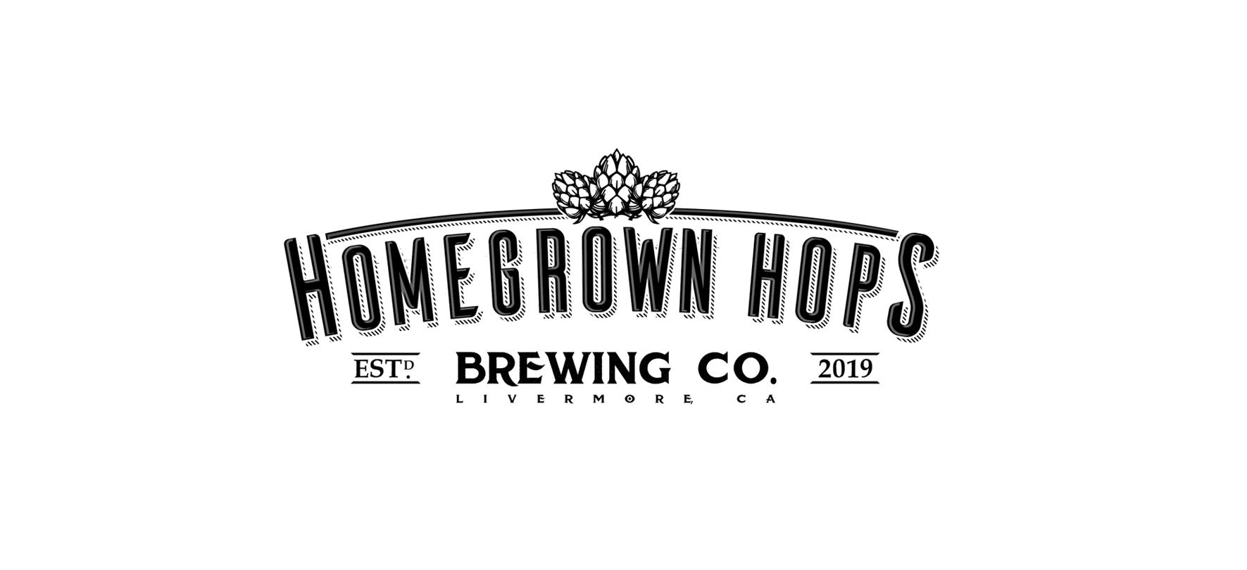 Homegrown Hops Brewing Logo
