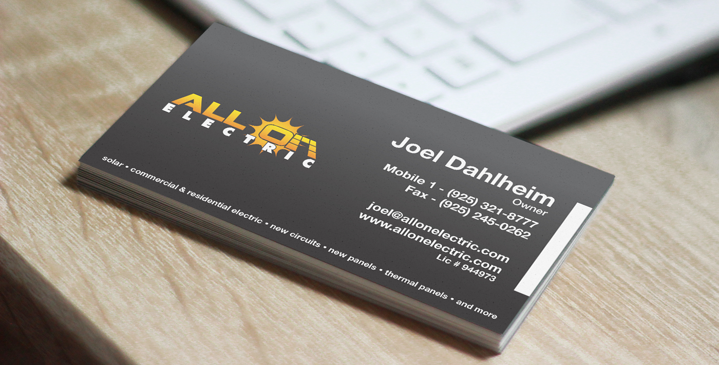 All On Business Card
